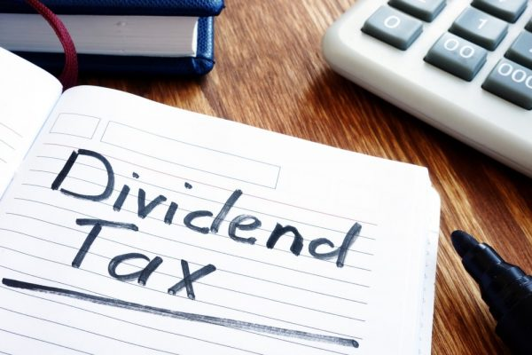 company dividend tax calculation