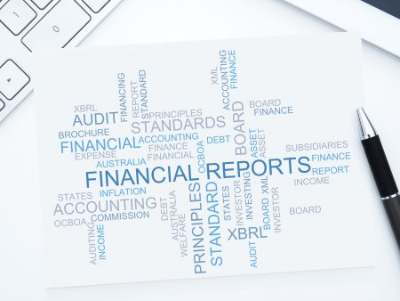 Financial reports for business