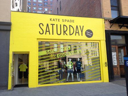 Saturday pop-up shop