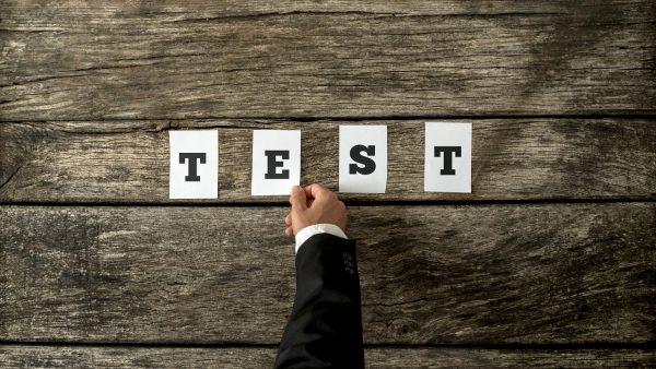 test financial plan
