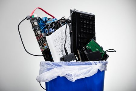 How to dispose of old electronics