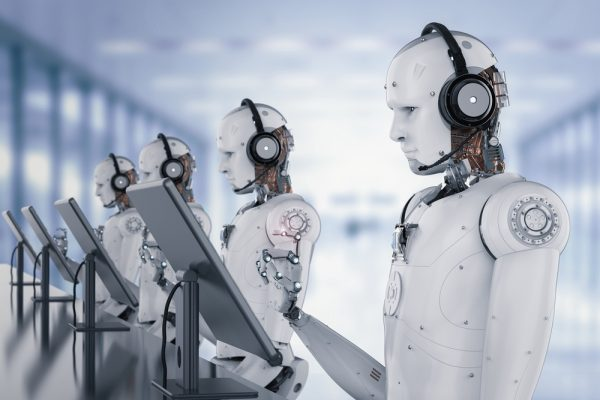 Artificial Intelliegence and human touch in customer contact