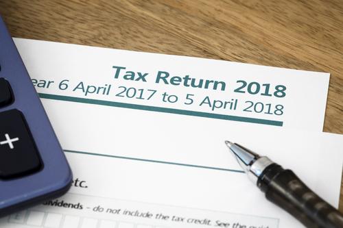 self assessment income tax return 2017/18