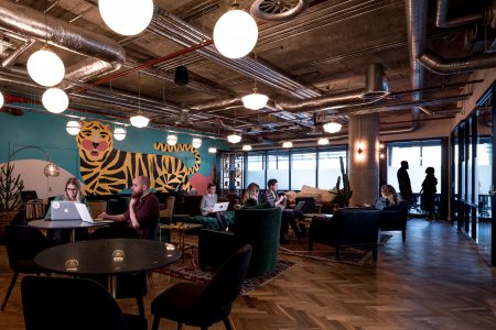 co-working space - London