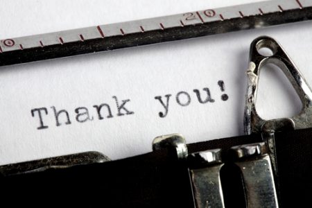 why saying thank you to staff boosts performance