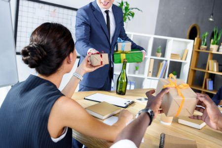 workplace gifts - what employers need to consider
