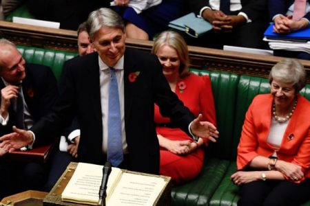 Autumn Budget 2018 - Phillip Hammond speech