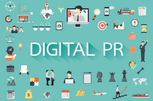 Gaining website backlinks with Digital PR