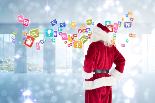 Christmas apps for business