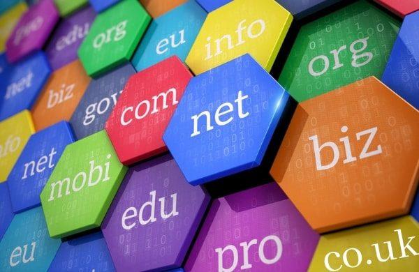 website domain options .co.uk .com
