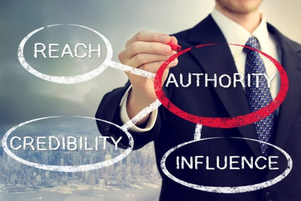 how to be seen as an authority