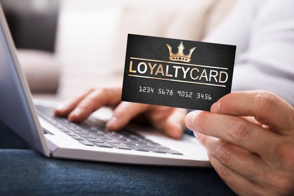 blockchain enabled customer loyalty scheme