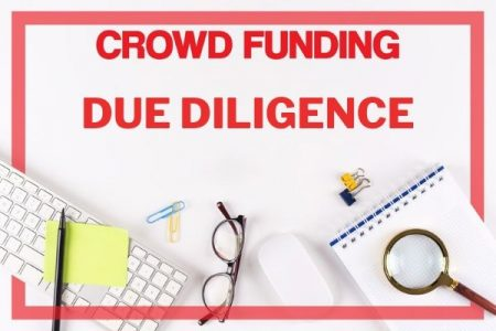 how to do due diligence for crowd funding campaign