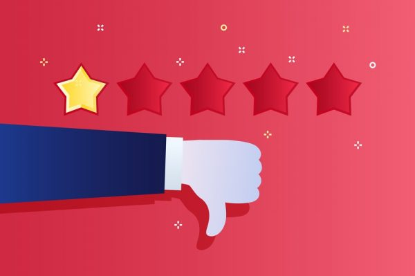 How to handle negative review