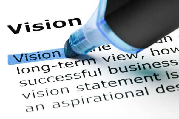 leading a buisness - have a vision