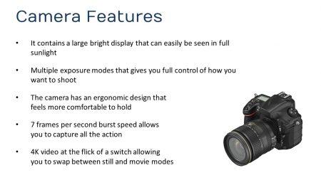camera slide