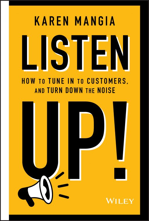 Listen Up - book cover