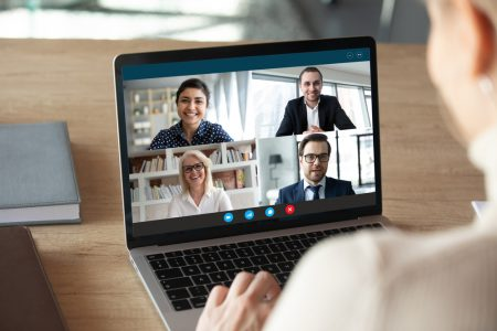 make connections online meetings