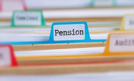 self employed pension